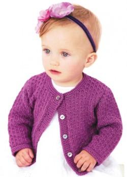 Розовая детская кофточка для девочки