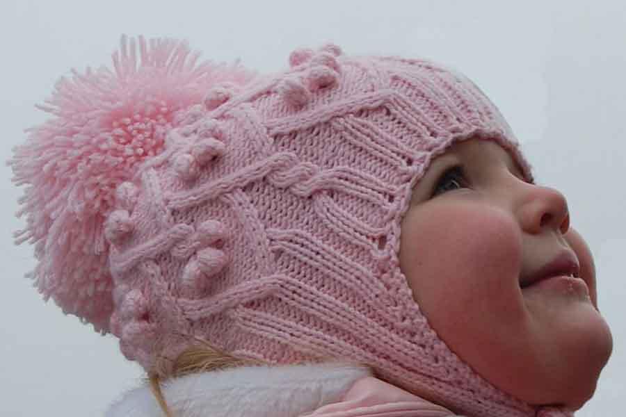 Детские шапочки » Вязание