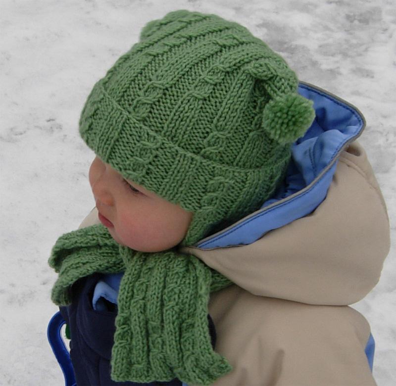 Как связать шапку буратино спицами для детей